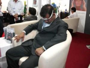 Cefaly at Arab Health 2011, Dubai, U.A.E.
