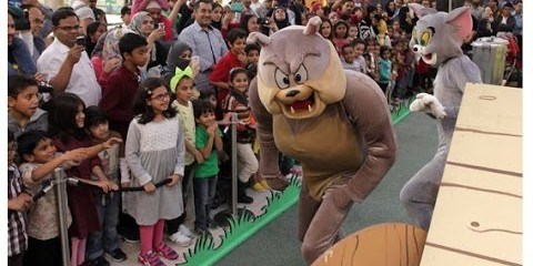 Tom & Jerry at Dubai Shopping Festival 2015