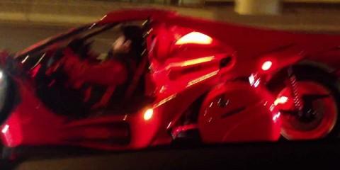 T-Rex 3 wheeler motorcycles! @ Dubai Shikh Zeyed Road