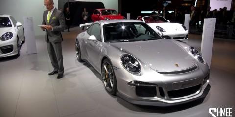 Porsche 991 Turbo and GT3 - Press Launch at Dubai Motorshow 2013