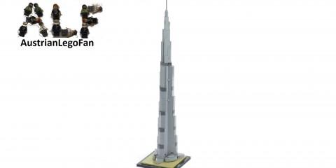 Lego Architecture 21031 Burj Khalifa - Lego Speed Build Review