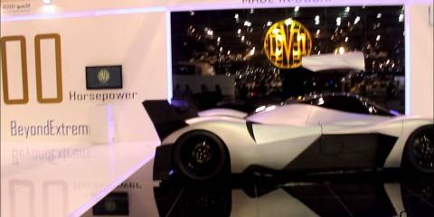 Devil Sixteen 5000hp Made in Dubai @Dubai Motor Show 2013