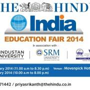 The Hindu INDIA Education Fair 2014 - Dubai