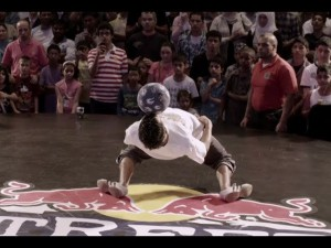 Freestyle Football Juggling - Red Bull Street Style Finals in Dubai