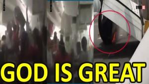 Update !! Dubai Emirates plane crash | Terrifying video of evacuation | exclusive inside video